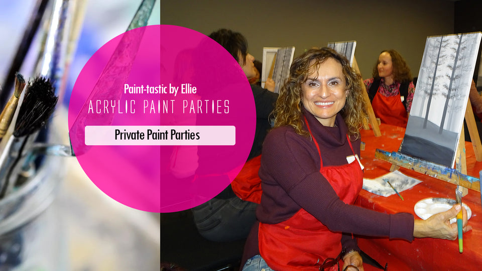private home paint parties