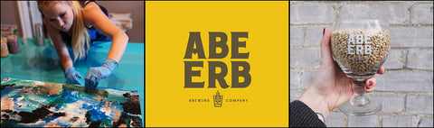 abe erb brewing company pour paint workshops