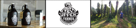 upper thames brewing co pour painting