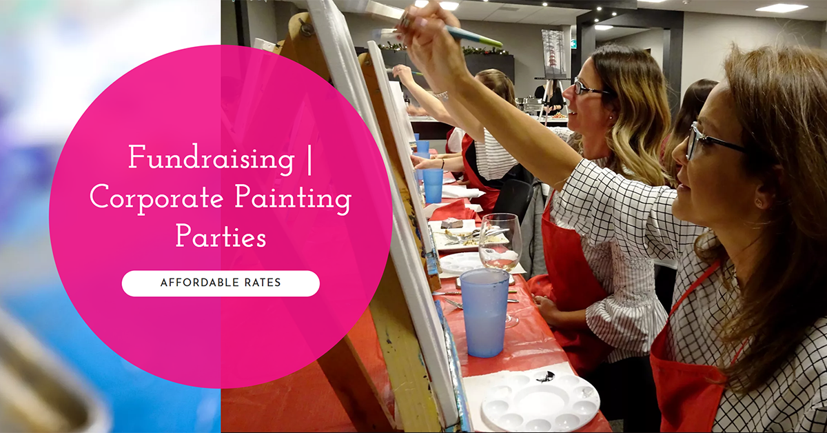 Corporate Paint Party | Book Your Event