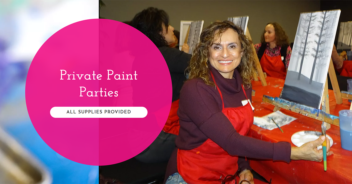 Private Paint Party | Book Your Event