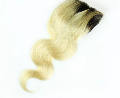 Diamond Doll Blond Peruvian Lace Closures