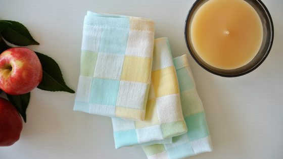 Take out a new washcloth every time you wash your face