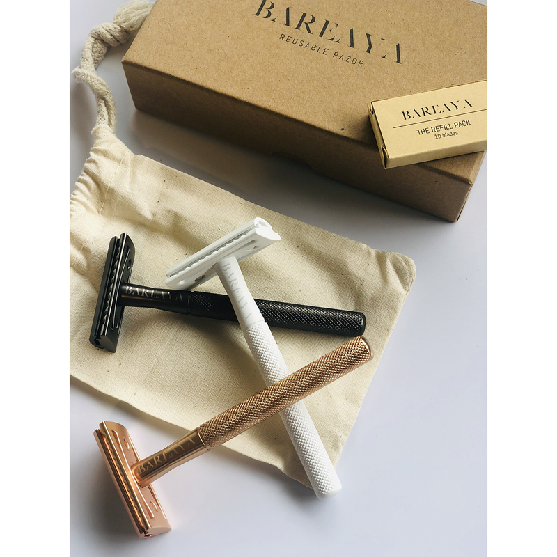 BAREAYA Brass Safety Razor