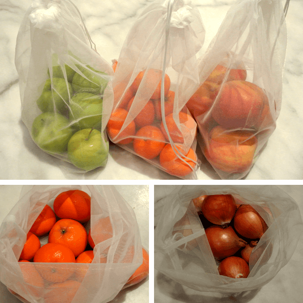 Reusable Produce Bags (5 Pack)