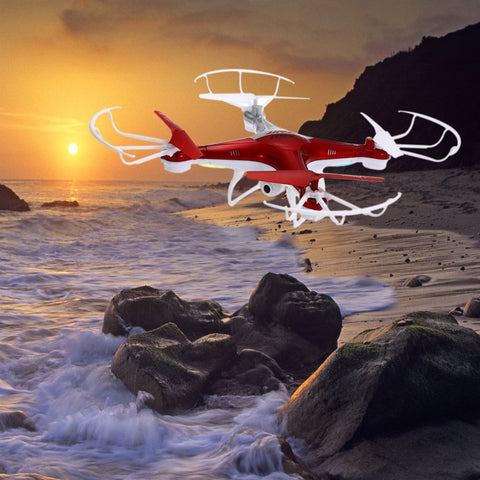 0.3MP Camera RC Quadcopter 4CH 2.4G 6-axis Gyro Drone One Key to Return LED Night Flight And Brushed Moter Helicopter JJRC H97