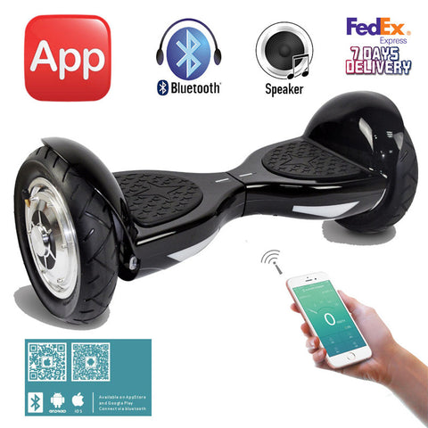 10 inch Hoverboard with App Bluetooth Samsung Battery Two Wheels Electric Skateboard Self Balance Scooters Electric Scooter