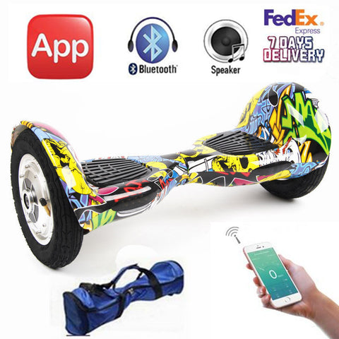 10 inch Two Wheels Electric Scooter Hoverboard Self Balancing Scooters Smart Balance Wheel Electric Skateboard hover board App