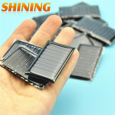 1000pcs/lot High Quality 0.15W 5V Solar Cells Senior Polycrystalline Silicon Solar Panel DIY Solar Board Cell Charger For DIY