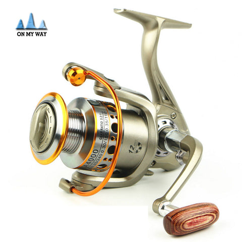 12 BB wheel spinning reel 5.5:1 LC2000-7000 Series Carp Reel spinning fishing reel carretilhas de pescaria fishing Tackle