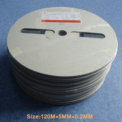 120M* 5MM * 0.2MM Tinned Copper Photovoltaic Solar Busbar Wire For Solder Solar Panel