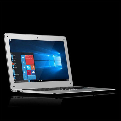 13.3 inch Windows 10 ultrathin 1920X1080 HD Quad Core Fast Running Netbook laptop computer with bottom metal case notebook