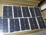 18W semi-flexible solar panel made with high efficiency USA solar cell-1