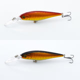 1piece Super Quality10 Colors 11cm 10.2g Isca Artificial Hard Bait Pesca Minnow Fishing lures wobbler crankbait 6# hook 3D eyes