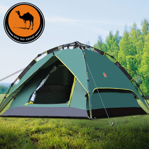 2-3 automatic double double camping outdoors 070 couple camping tent tents
