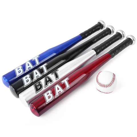 20 Inches Aluminum Alloy Outdoor Sports Soft Baseball Bat Female Male Left Hand Right Hand Baseball Bat For Exercise or Matches