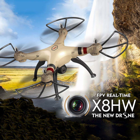 2016 Hot SYMA X8HW X8W Upgrade FPV RC Quadcopter Drone with WIFI Camera 2.4G 4CH 6Axis Headless Mode RC Helicopter Automatic