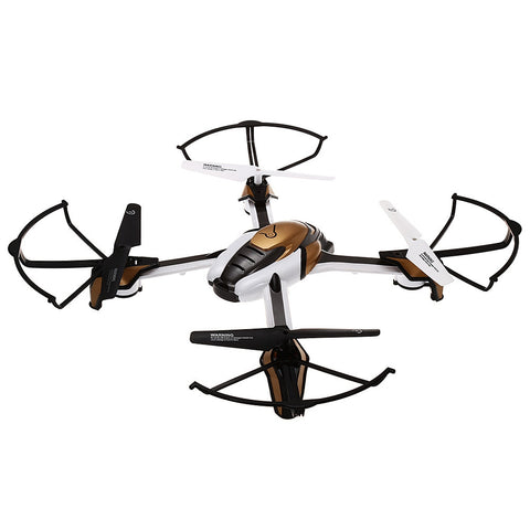 2016 New RC Quadcopter 2.4GHz 4CH 6 Axis Gyro Brushed Drone Dron RTF Headless Mode Drones with One Key Automatic Return Function