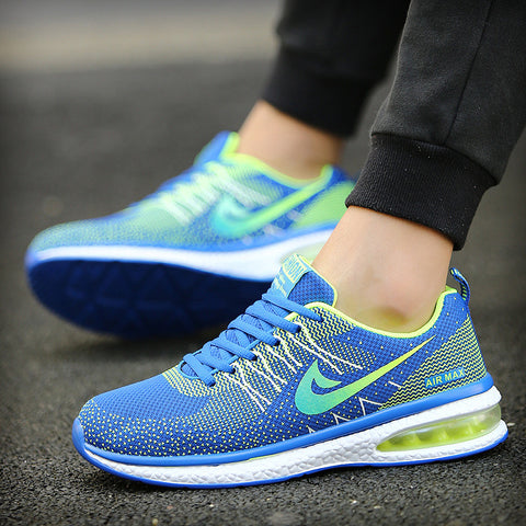 2017 New men Air Breathable Men running Shoes Flat Men sneaker Zapatillas Deportivas Mujer