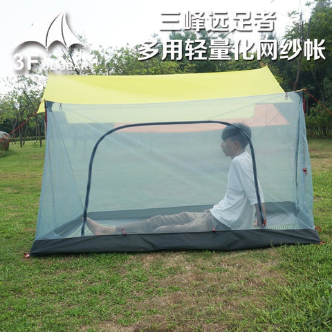 3F ul GEAR Ultralight Outdoor 2 Person Summer camping Mesh Tent / tent Body / Inner Tent / tent Vents Lightweight Mosquito Net