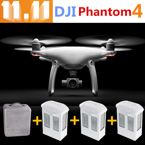 3pcs battery DJI Phantom 4 Rc Helicopter Quadcopter  Professional Drone with HD Camera 4K 3Aixs Gimbal phantom4 fpv gps