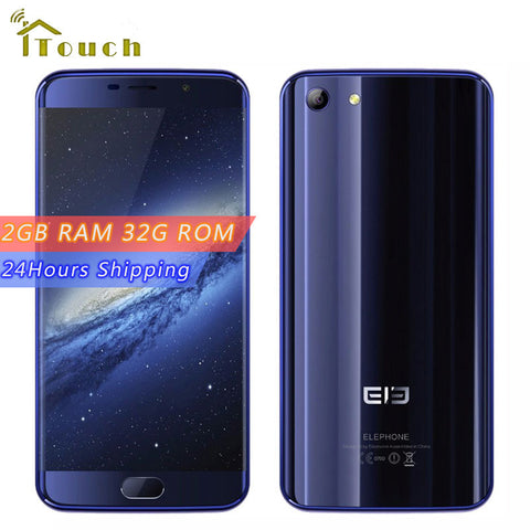 5.2 inch Elephone S7 Mini Android 6.0 MT6737T Quad Core Smartphone 2GB RAM 32GB ROM 1920*1080 GPS 13MP 4G LTE Mobile Phone
