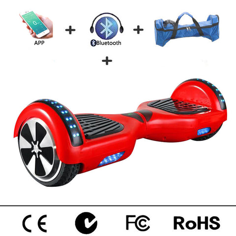 6.5 inches Hoverboard Bluetooth Speaker APP Control OxBoard Hover Board Air Hoover Board Gyropode Walk Car Overboard