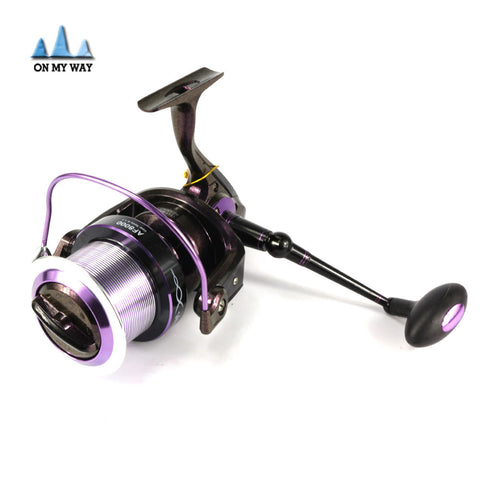 AF8000 series full metal spool Jigging trolling long shot casting for carp and salt water surf spinning big sea fishing reel