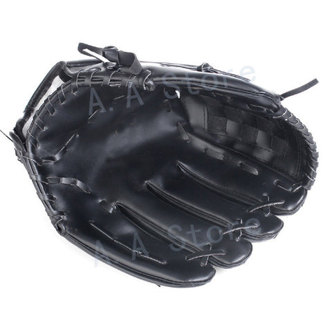 Anyfashion Baseball Gloves New Portable Dark Brown Durable Men Softball Baseball Glove Sports Player Preferred 11.5 inch