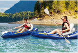 Aqua Marina Veloctiy 1 person sit-on-top kayak inflatable boat 266*97cm,  Aluminium paddle, air pump, carry bag,repair kit