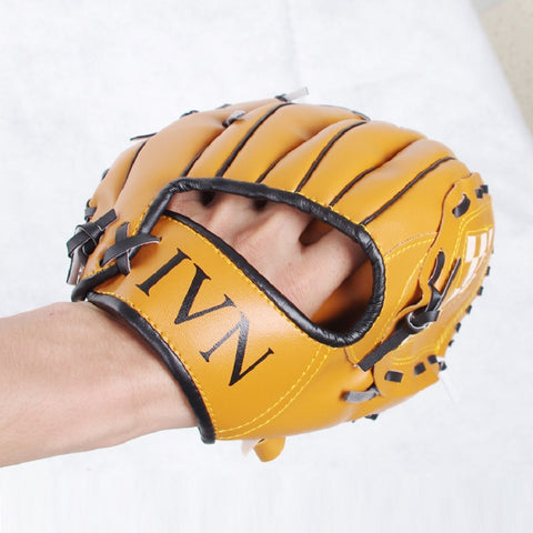 "Baseball Glove Catcher10.5""/11.5""/12.5"" Children Teenage Adult Softball Outdoor Team Sport Left/Right Hand Practice Equipment"