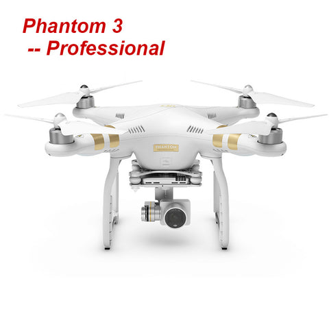 DJI Phantom 3 Professional with 4K Camera RC Helicopter FPV Drone with EMS Free Shipping
