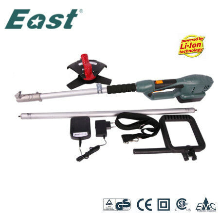East garden tools ET1204 electric lawnmower brush cutter 18v Li-ion lawn mower telescopic handle mower