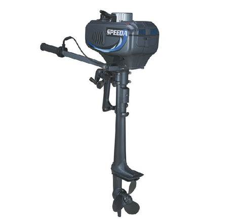 FREE SHIPPING New Design Hot Selling SPEEDA 2-stroke 3.5HP outboard motor boat engine Gasoline watercooled good quality