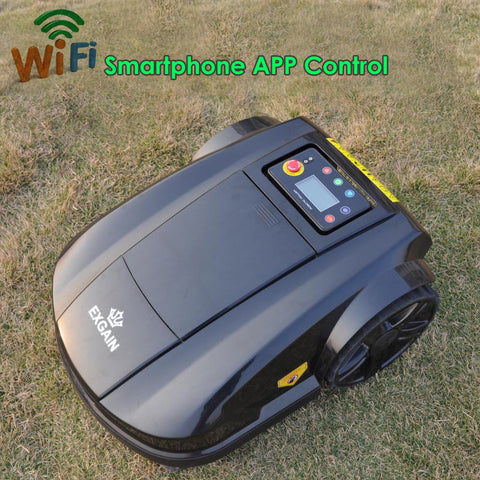 Newest Robotic Mower S520 WIFI App Wireless Control Electric Robot Lawn Mower Waterproof Battery Cordless Lawn Mower