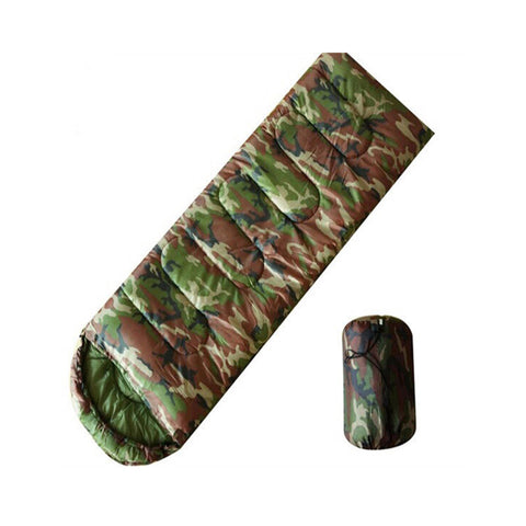 Sleeping Bag Military Envelope Camouflage Outdoor Camping Hiking Travelling Sleep Bags For Adult