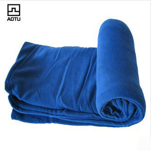 Superfine fleece pilling fleece sleeping bags outdoor camping sleeping bags