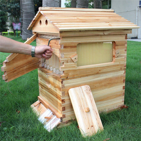 free shipping for USA , Canada,European country honey automatic flow bee hive