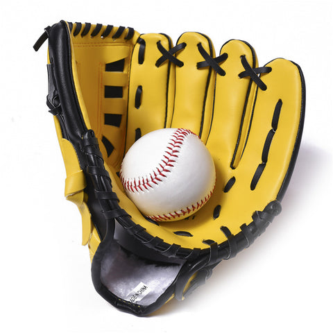 4 Kinds of Color available Baseball Gloves Good Quality Children's Baseball Gloves 10.5inch PVC Baseball Gloves