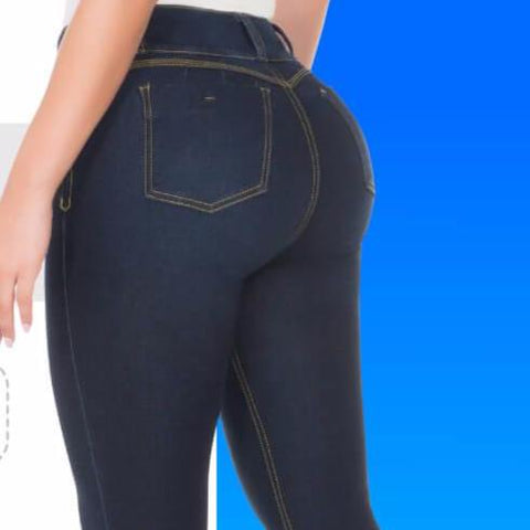 CYSM  Colombian Butt Lift Push Up Jeans Levanta Cola | REF #2027 Jeans Virtual Sensuality- LAPG