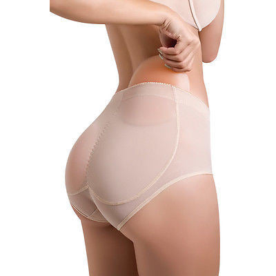 VS3 Push up Butt-lift Panty w/ Silicone Pads Increases & Lifts Buttocks (S-2XL)-Shapewear-Virtual Sensuality Fajate-S-LAPG