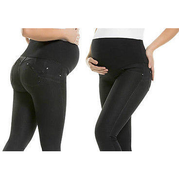 Maternity Colombian Butt LIFT PUSH UP Stretch Slim Shaper Jeans Levanta Cola | Joy Jeans Virtual Sensuality- LAPG