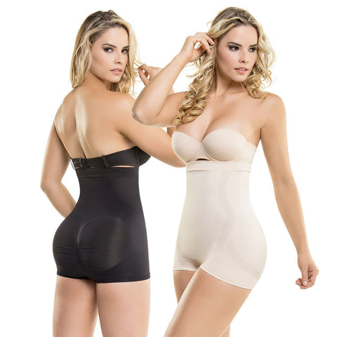 VS1580 Thermal Abdomen Seamless Underbust Strapless Body Shaper & Butt Lift