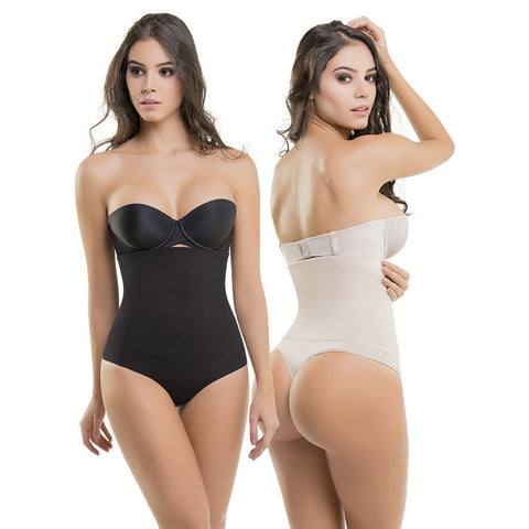 VS1560 Postpartum Ultra Compression Strapless Body Shaper Slims Waist Thong