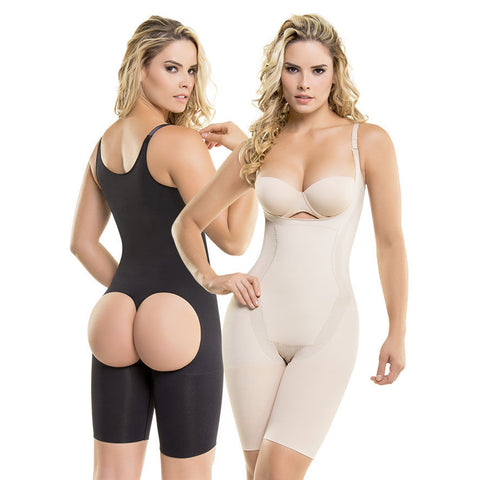 VS1582 Thermal Slimming Body Shaper Waist Reducer Control & Butt Lift (S-3XL)-Shapewear-Virtual Sensuality Fajate-S-LAPG