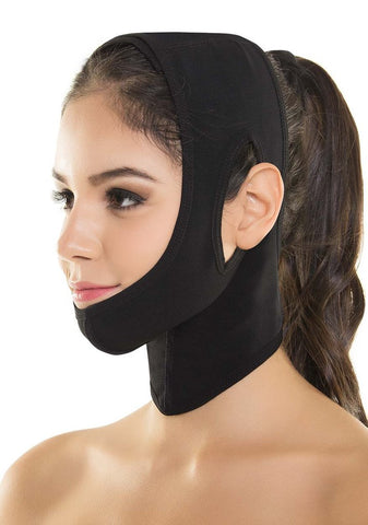 VS 356 Post Surgery Compression Face Wrap - Anti Wrinkle - Face Lift with Velcro Masks & Peels Virtual Sensuality Fajate- LAPG