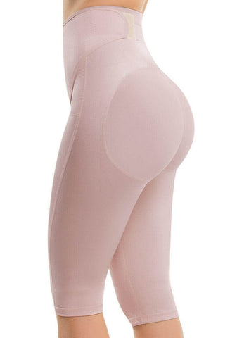 VS 611 - Adjustable Firm Control Ultra Flex Waist Shorts Shaper - Flattens Abdomen - Butt Lift - Ultraflex Shapewear Virtual Sensuality Fajate- LAPG