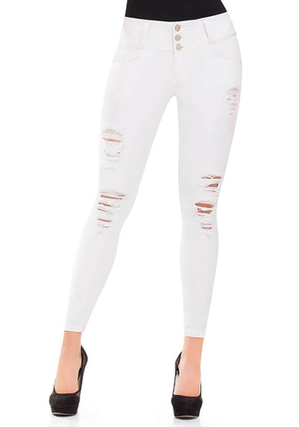 CYSM - Women's Push Up Jeans Colombian Butt Lift, Stretch | Levanta Cola | AMELIA