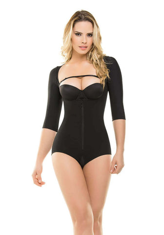 VS 286 - Arms and Abdomen Bodysuit - Slimming Body Shaper - Butt & Breast Lift - Postpartum - Post Surgery - Powernet Shapewear Virtual Sensuality Fajate- LAPG