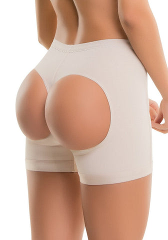 VS 202 - Thermal Butt-Lifting Shorts - Slimming - Butt Lift - Post Surgery - Thermal Powernet Shapewear Virtual Sensuality Fajate- LAPG